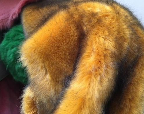 High Pile Fur Solid Knit 1200GSM 62/63''