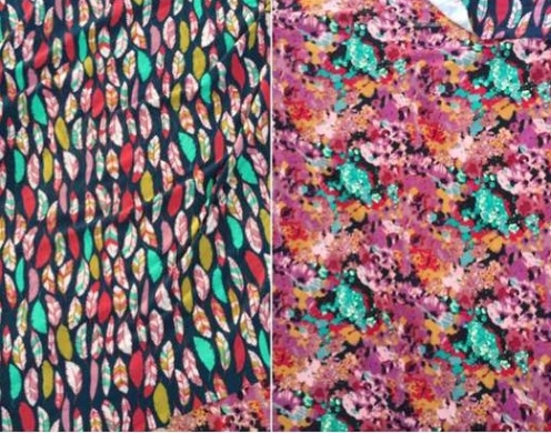 Poly Spandex Print Knit Brushed 180gsm 160cm