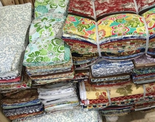 Cotton Calico Printed Remnant Fabric 7~8m per KG
