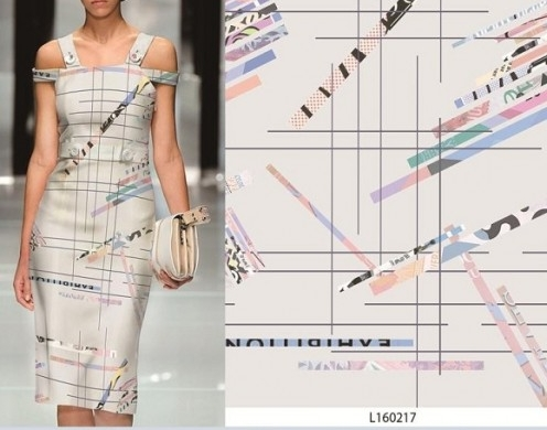 Poly Two Way Spandex Digital Printed Woven 57/...